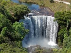 cachoeira da Estação Ecológica Serra Geral do Tocantins
