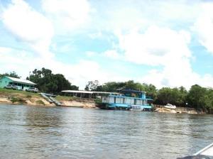 Barco Hotel Rey na Pousada do Reanato ( Pimenteiras)
