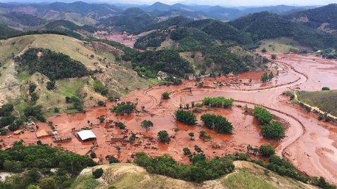 desastre ecologico dab samarco