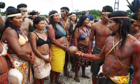 indios xavantes