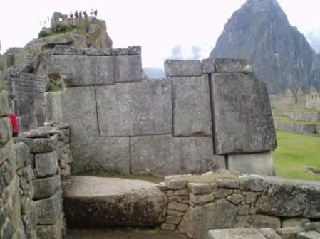 muro da pedra Matchu pitu