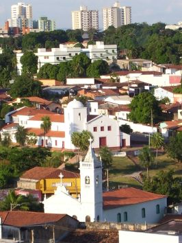 igreja de são benedito em Cuiabá